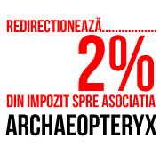 Redirecționează 2% din impozit spre Archaeopteryx